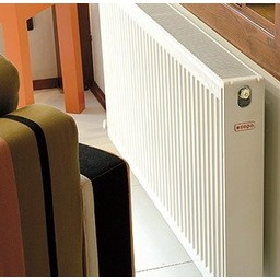 Copa Copa Konveks paneelradiator T21 H500, diverse breedte, inc. bevestigingsset,