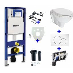 Wiesbaden Geberit UP-320 + toiletblokhouder + Trevi O.P. + Sigma 01 wit