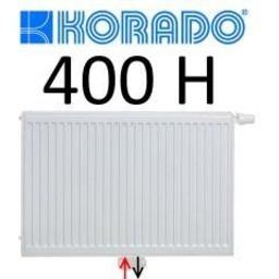 Korado Korado paneelradiator T22 H400, diverse breedte, midden aansl.