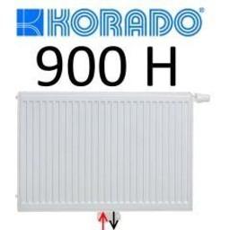 Korado Korado paneelradiator T22 H900, diverse breedte, midden aansl.