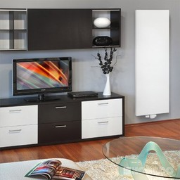 Korado Korado verticale radiator T20, diverse maten, vlakke voorzijde, kleur wit