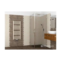 Korado Koralux handdoekradiator middenaansluiting, wit, recht, diverse maten