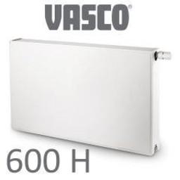 Vasco Vasco Flatline T22, H600, diverse breedte, wit