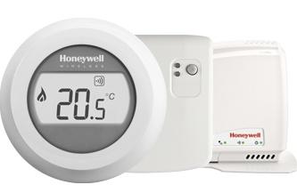 Honeywell Honeywell Round Connected Wireless aan/uit kamerthermostaat Y87RFC2032