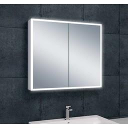 Wiesbaden WB Quatro spiegelkast +verlichting 80x70x13