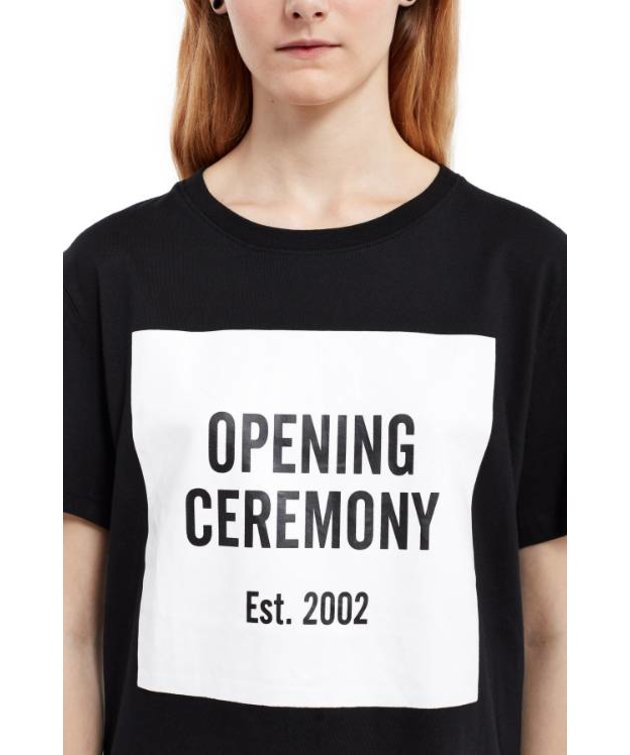 Opening Ceremony Opening Ceremony Logo Tee Black