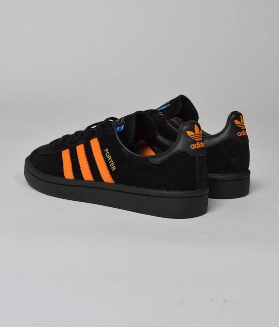 Adidas Adidas X Porter Campus Black Orange