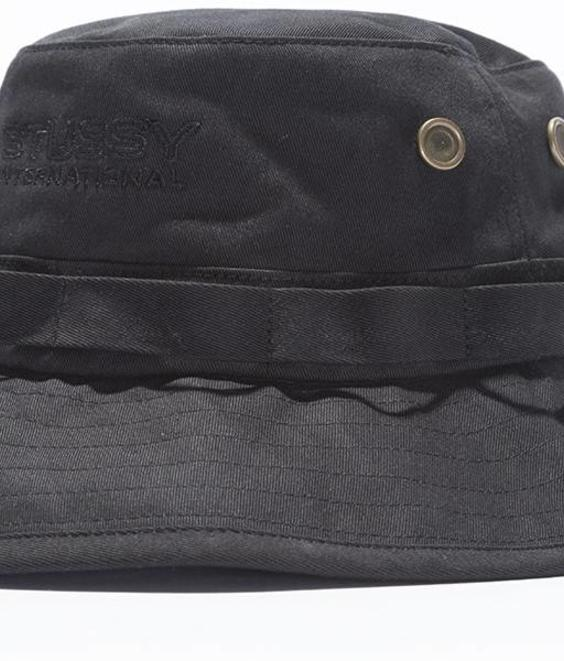 Stussy Stussy Fisherman Hat Black