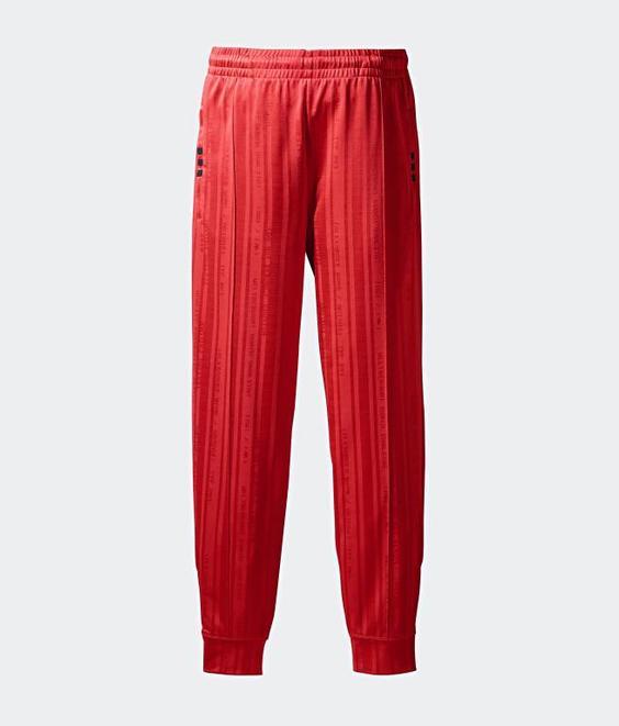 Adidas Adidas X Alexander Wang Track Pants Red