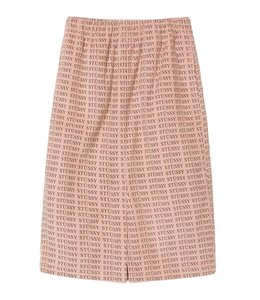 Stussy Stussy Eva Printed Corduroy Skirt Pink