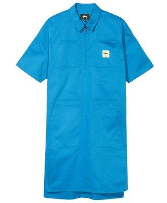 Stussy Stussy Clean Work Dress Blue