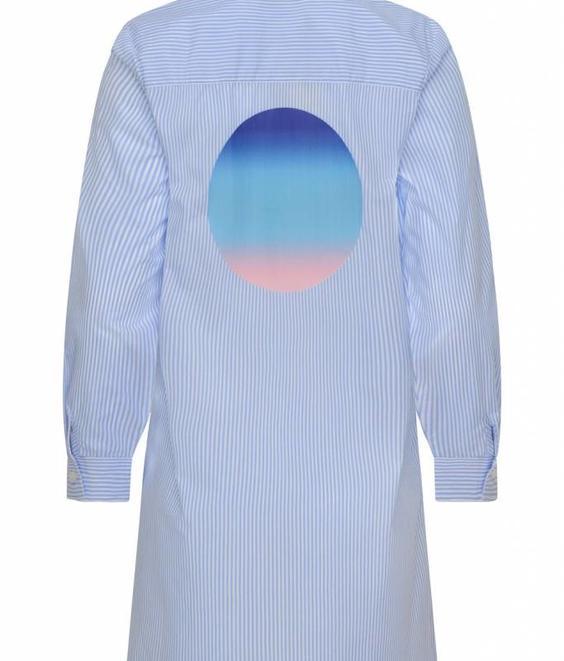 Etre Cecile Etre Cecile Hot Art Girlfriend Shirt Dress