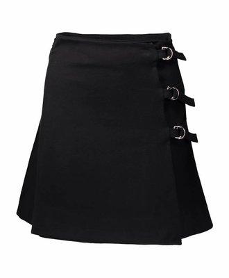 Maison Kitsune Maison Kitsune Eyelet Skirt Black