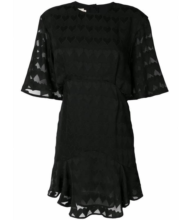 Maison Kitsune Maison Kitsune Juliet Dress Black