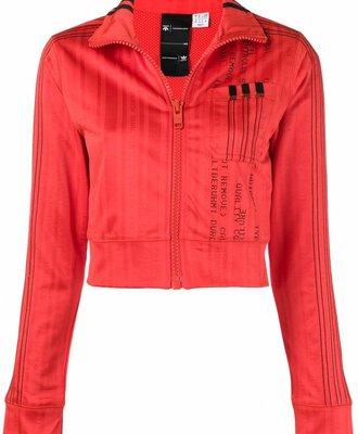 Adidas Adidas X Alexander Wang Crop Track Top Red