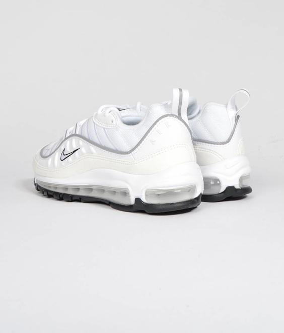Nike Nike W Air Max 98 White/Reflect Silver