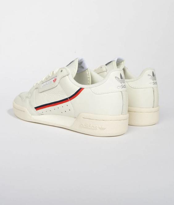 Adidas Adidas Continental 80 Beige Off White
