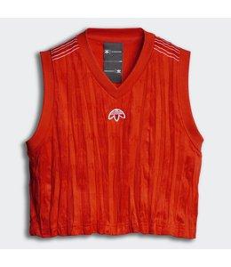 Adidas Adidas X Alexander Wang Crop Jersey Bold Orange