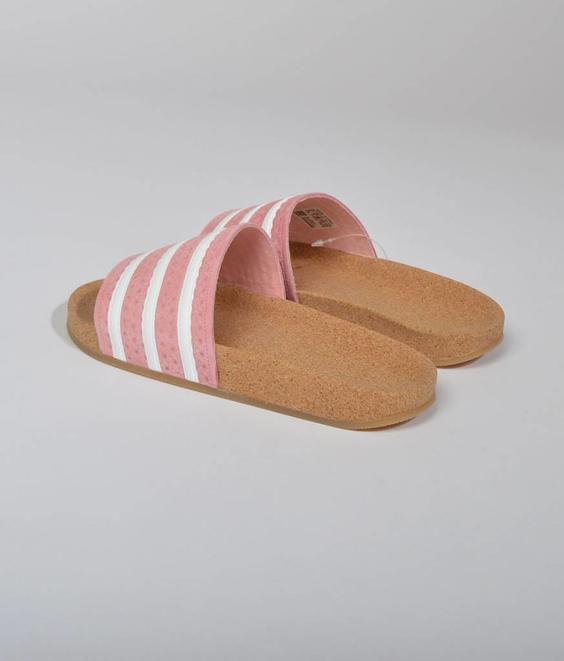Adidas Adidas Adilette Cork Super Pop Pink