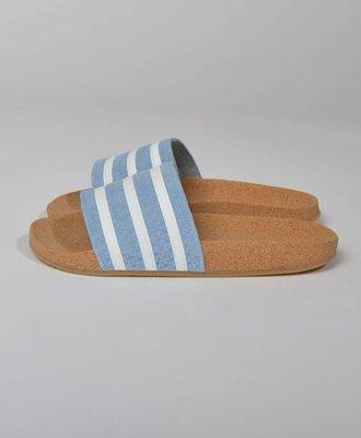 Adidas Adidas Adilette Cork Ash Blue