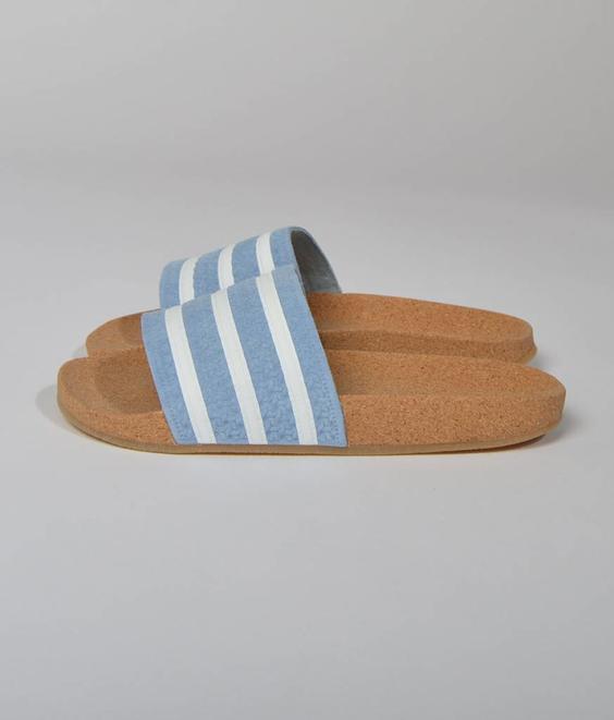 Adidas Adidas Adilete Cork Ash Blue