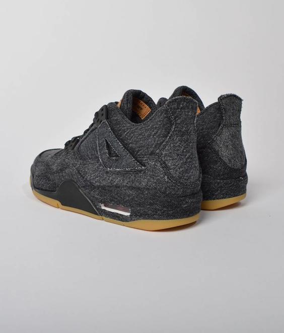 Nike Nike Air Jordan 4 Retro Levis NRG GS Black