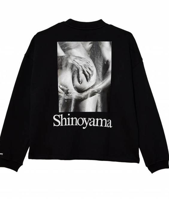 Opening Ceremony Opening Ceremony Shinoyama Cozy Sweat Black