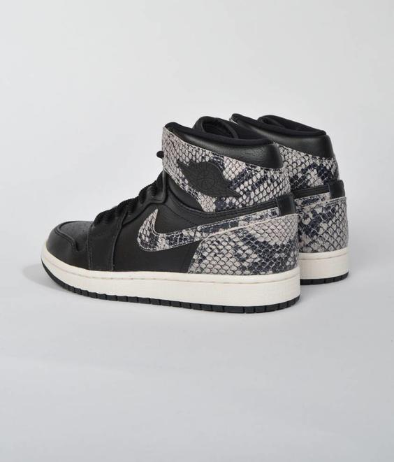Nike Nike Jordan 1 Retro High PRM Black Snake