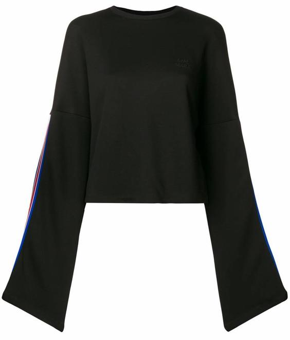 Etre Cecile Etre Cecile EC Crop Sweat Black