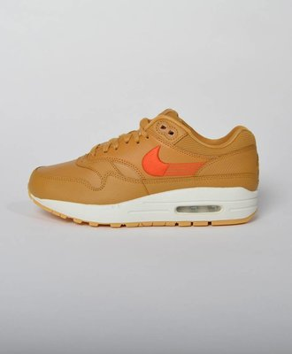 Nike W Air Max 1 Premium Wheat Team Orange