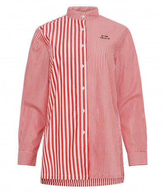 Etre Cecile Etre Cecile Deja Dude Girlfriend Shirt Red/White