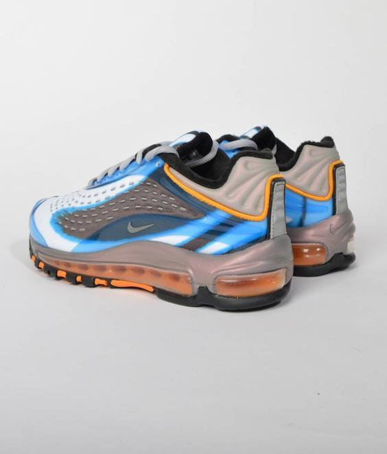 Nike Nike W Air Max Deluxe Photo Blue Wolf Grey Orange Peel