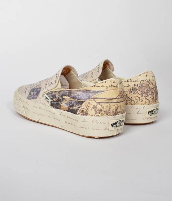 Vans Vans X Van Gogh Classic Slip-On Letter