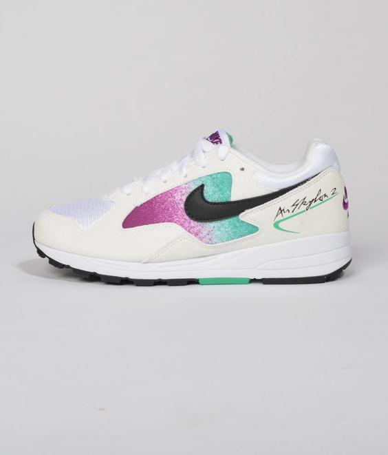 Nike Nike Air Skylon II White Black Clear Emerald