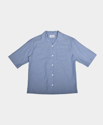 Libertine Libertine Libertine Planet Dress Shirt Mid Blue