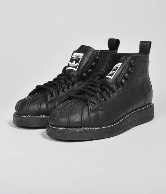 Adidas Adidas Superstar Boot Luxe Core Black