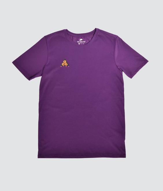 Nike Nike ACG Tee Night Purple Bright Mandarin