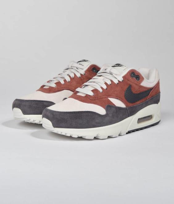 Nike Nike W Air Max 90/1 Red Sepia Oil Grey