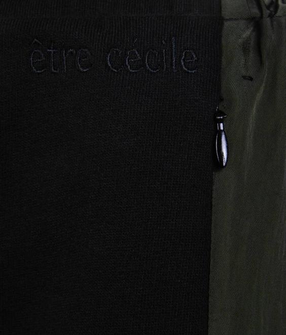 Etre Cecile Etre Cecile Color Block TP Black Khaki