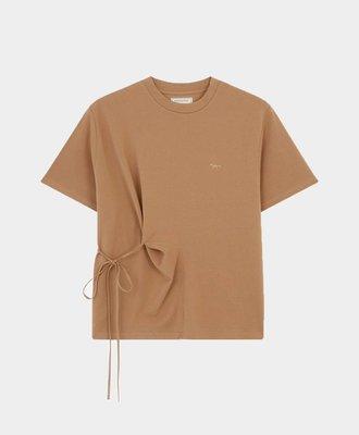 Maison Kitsune Maison Kitsune Draped T-Shirt Camel