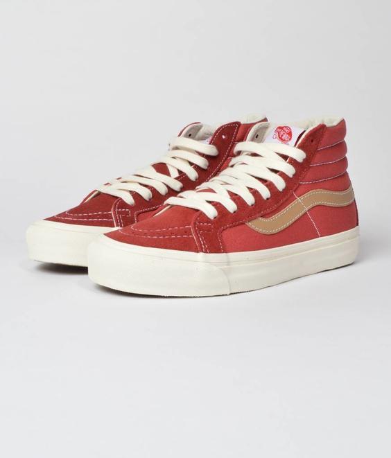 Vans Vans Vault OG SK8-Hi Sun-dried Tomato Red