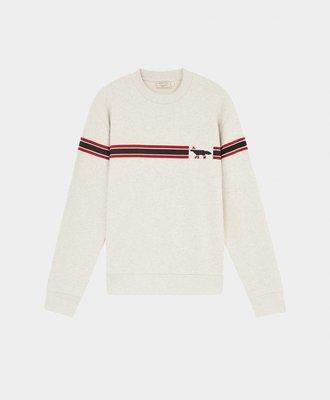 Maison Kitsune Maison Kitsune Sweatshirt Striped Fox