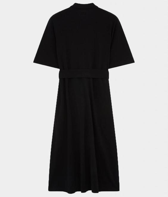 Maison Kitsune Maison Kitsune Polo Dress Black