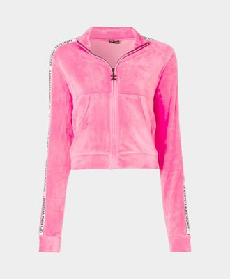 Opening Ceremony Opening Ceremony Velour Track Jacket Pink
