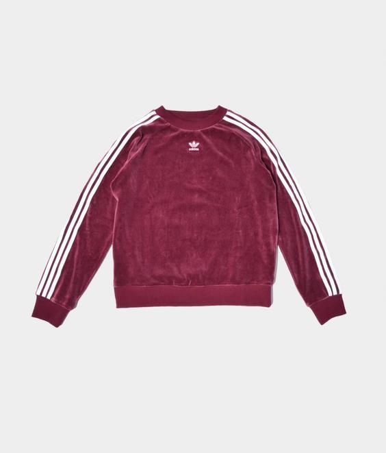 Adidas Adidas TRF Crew Velvet Maroon