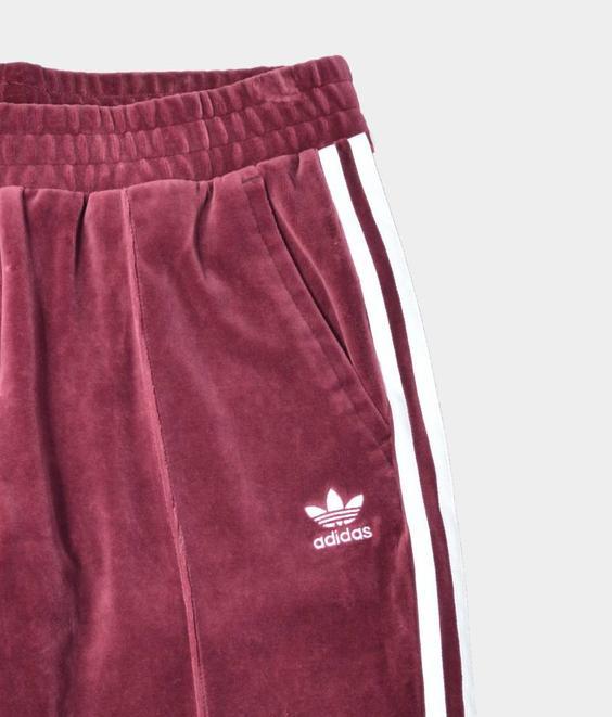 Adidas Adidas Regular Track Pants Velvet Maroon