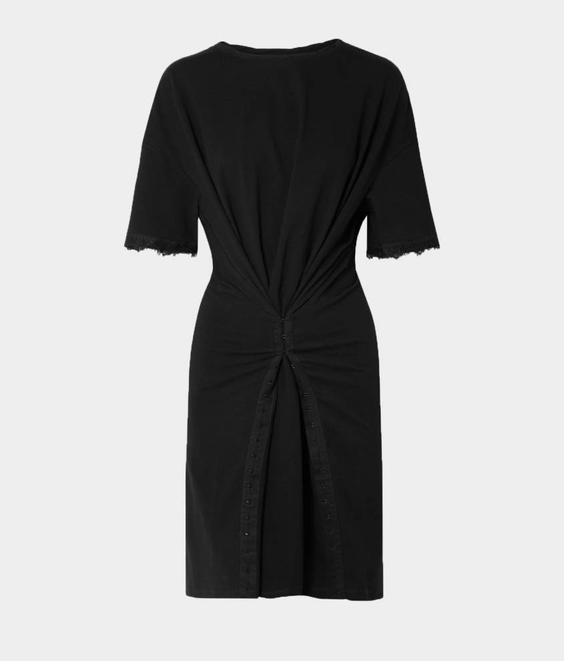 Opening Ceremony Opening Ceremony Hook and Eye T Dress Black