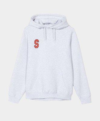 Stussy Stussy College Arc Hood Grey Ash