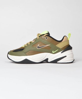 Nike Nike M2K Tekno Medium Olive Black Yukon Brown