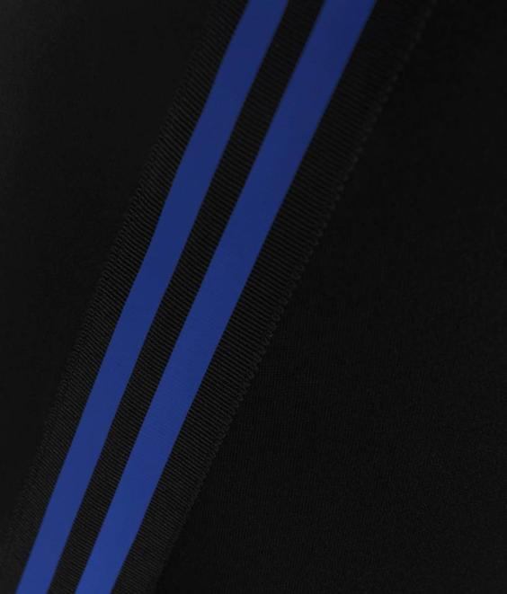 Etre Cecile Etre Cecile Grosgrain A-Line Midi Skirt Black